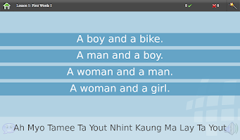 Screenshot of L-Lingo Learn Burmese