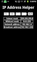 Screenshot of IP Address Helper