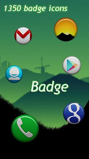 Badge Theme GO Apex Nova