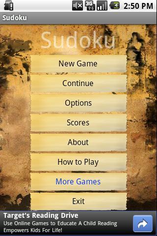 Sudoku - brain training