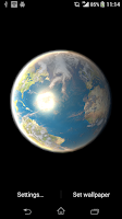 Screenshot of Earth Live Wallpaper