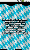 Screenshot of Bavarian Anthem App