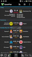 Screenshot of GamePlan Soccer Calendar