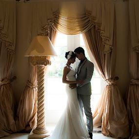 Ec & Ma by Amin Basyir Supatra - Wedding Bride & Groom ( love, bali, prewedding, silhouette, wedding, romantic,  )