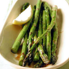 Apricot-Glazed Roasted Asparagus