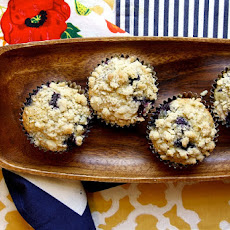 Lemon Blueberry Poppy Seed Muffins