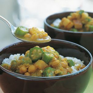 Curried Chickpea and Potato Stew