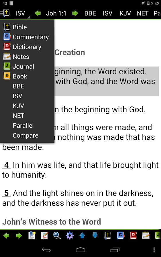 MySword Bible Screenshot 19