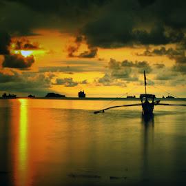 sunset at nirwana by Fajar Vandra - Landscapes Sunsets & Sunrises