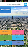Screenshot of Paris Offline Map & Guide