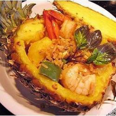 Seafood and Pineapple Fried Rice