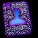 GO CONTACTS - Glimmer Purple icon