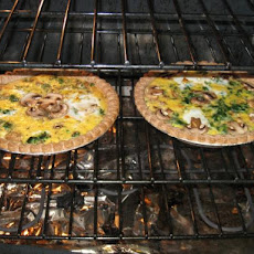 Leftover Turkey Quiche (Day After Thanksgiving)