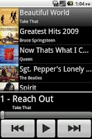 Screenshot of Simple Music Player Free