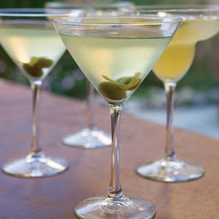 Limoncello Dirty Martini
