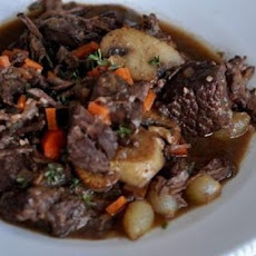 Boeuf Bourguignon a La Julia Child