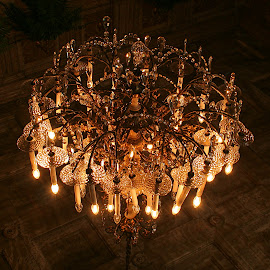 Upside down by Migolatiev Marianna - Artistic Objects Other Objects ( chandelier, glass, lisboa, antique, light )