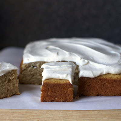 Spiced Applesauce Cake