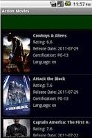 Screenshot of Action Movies Online