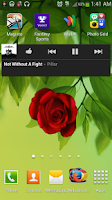 Screenshot of Blooming Rose battery widget