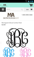 Screenshot of Monogram Art