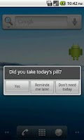 Screenshot of Pill Reminder