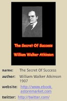 Screenshot of The Secret Of Success