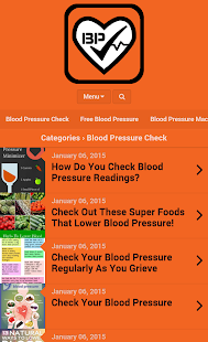 Finger Blood Pressure Scanner - screenshot