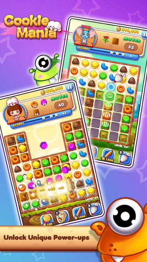Cookie Mania - Halloween Sweet Game Screenshot 2