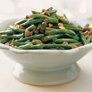 Stir-Fried Green Beans with Tamari Almonds