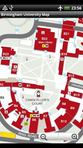 旅遊必備APP下載|Birmingham University Map 好玩app不花錢|綠色工廠好玩App