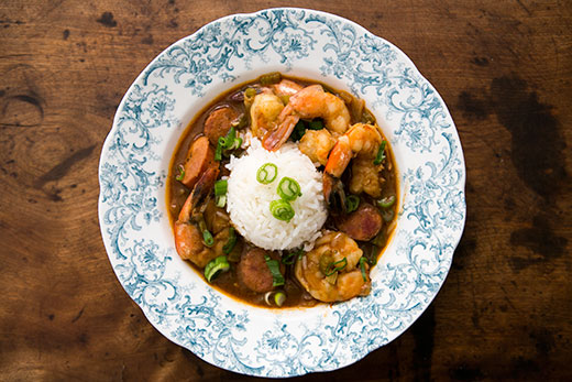 Shrimp Gumbo with Andouille Sausage Recipe | Yummly