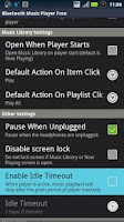Screenshot of Bluetooth Music Player Free