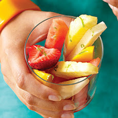 Fruit Cocktail with Margarita Dressing
