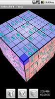 Screenshot of Sudokube Demo - 3D Sudoku