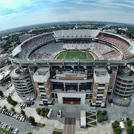 Bryant Denny Stadium by Jeffrey Genova - Sports & Fitness Australian rules football ( football, bryant-denny, stadium, alabama, tuscaloosa )