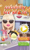Screenshot of Celebrity Ice Cream Store