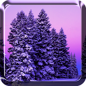 Schnee Live Hintergrund