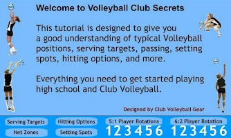 Screenshot of Volleyball Club Secrets