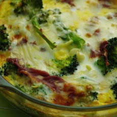Ww 3 Pt. (Weight Watchers) Broccoli Quiche