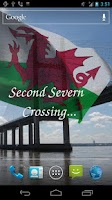 Screenshot of 3D Welsh Flag Live Wallpaper +