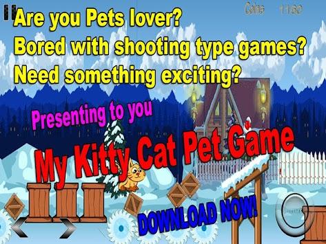 MY CUTE KITTY CAT PETS apk screenshot