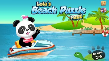 Screenshot of Lola's Beach Puzzle Lite