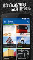 Screenshot of iTheorie Lastwagen Premium