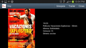 Screenshot of Cinemas Procinal Colombia