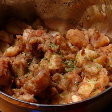 German-Style Potato Salad with Bacon and Balsamic Vinegar
