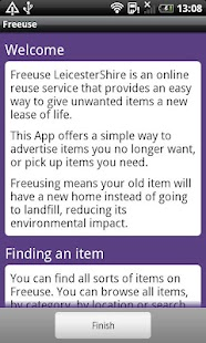 Freeuse Leicestershire - screenshot