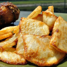 Granny's Greek Fried Potatoes