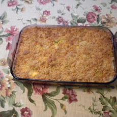 Broccoli or Cauliflower Cheese Casserole
