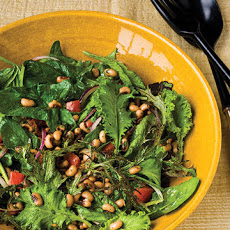 Black-Eyed Pea Salad with Baby Greens